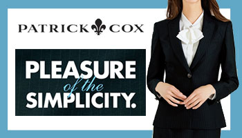 外勤営業【PATRICK COX】PLEASURE of the SIMPLICITY.