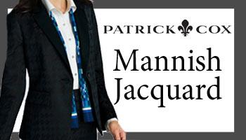 外勤営業【PATRICK COX】Mannish Jacquard
